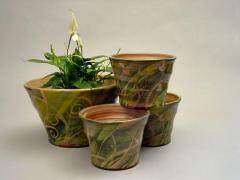Cache-pots - Herbes vert